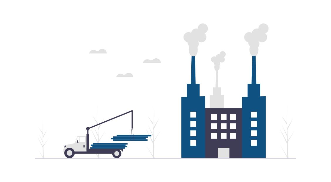 die Webseiten eines renomierten Herstellers von Industrietoren